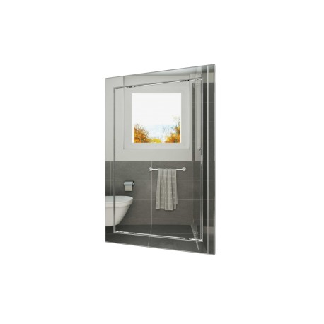 L2040 chrome, Push revision hatching door 218kh418 with flange 196kh396 ABS, décor