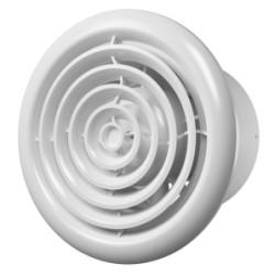 FLOW 4 BB, Aksialni kanalski ventilator s okroglim pokrovom za ventil BB D 100