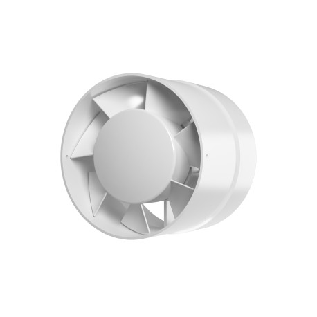 Axial inlet-and-exhaust duct fan  BB ball bearings D100