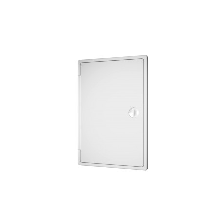 Revision hatching door with bolt handle 200kh300, plated mounting