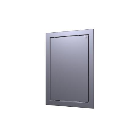 L1515  gmetal, Drsna revizijska vrata168kh168 s prirobnico 146kh146 ABS, decor