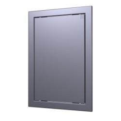 L1520  dmetal, Drsna revizijska vrata168kh218 s prirobnico 146kh196 ABS, décor