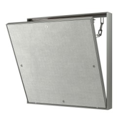 Removable Hatch for Tile with an opening stop chain 300kh500