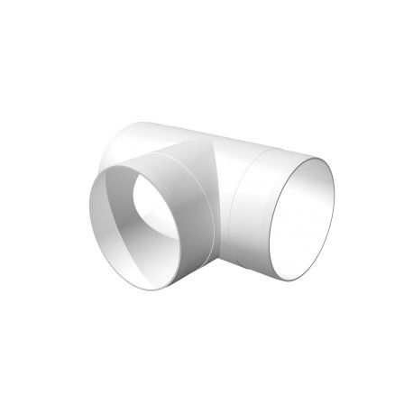 T-joint for round ducts D100