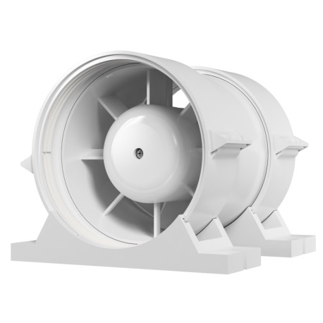 Kanalski aksialni ventilator za dovod in odvod zraka s pritrdilnim kompletom BB D160