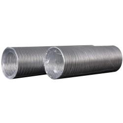 Aluminijasti fleksibilni valoviti zračni kanal, D do 3 m, premer 80 mm