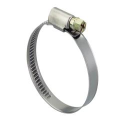 Steel hose clamp 70-90 mm, width 9 mm