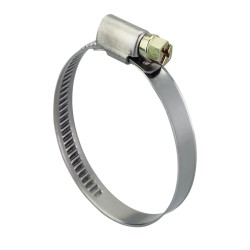 Steel hose clamp 120-140 mm, width 9 mm