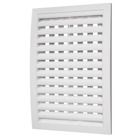 Removable grill with adjustable flow section 200x200