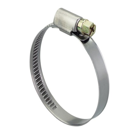 Steel hose clamp 240-260 mm, width 9 mm