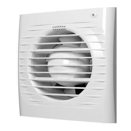 Aksialni ventilator s povratno loputo, senzorjem vlage in timerjem BB D125