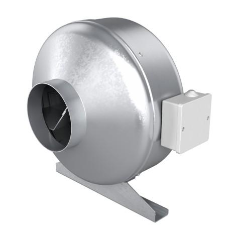 Centrifugalni kanalski ventilator za dovod in odvod zraka, jeklo BB D250