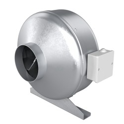 Centrifugalni kanalski ventilator za dovod in odvod zraka, jeklo BB D100