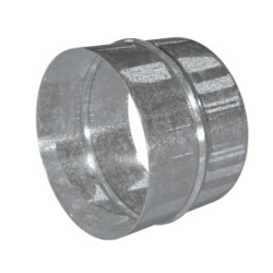 Zinc-coated steel connector D150