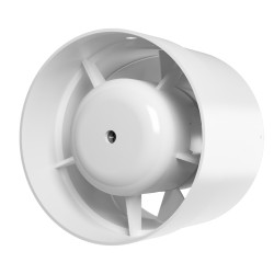 Axial low voltage inlet-and-exhaust duct fan  SB D125