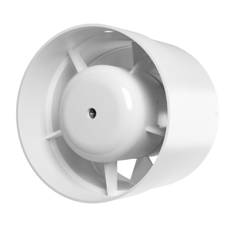 Axial inlet-and-exhaust duct fan  BB ball bearing D125