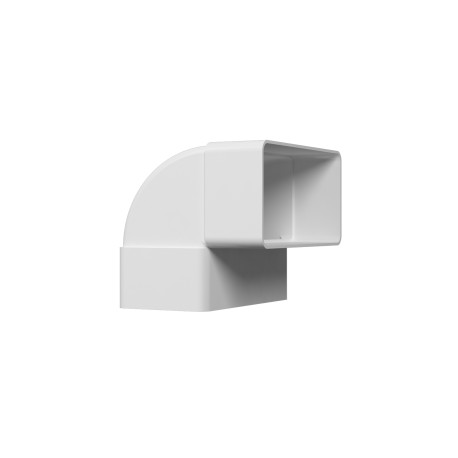 Vertical flat elbow 90° for rectangular ducts 60kh120