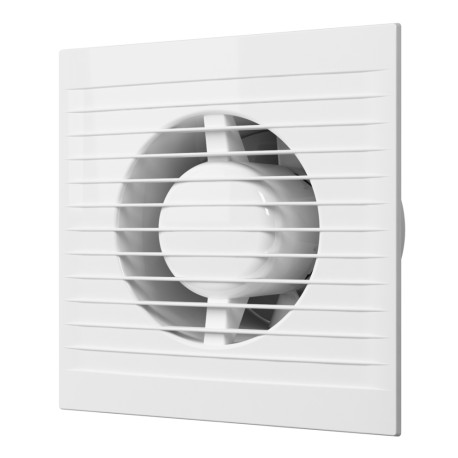 E 100 S C, Axial fan with anti-mosquito screen and back valve D 100