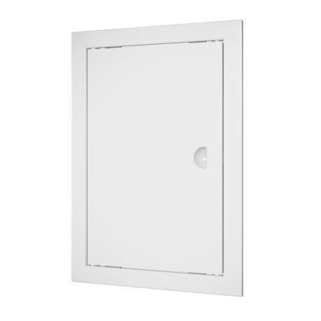 Revision hatching door with handle 218x318 and flange 196x296