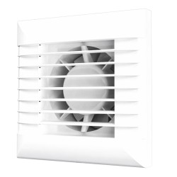 EURO 5A ET, Axial fan with timer and thermal actuator that provides smooth opening and closing of the automatic louvre shutters