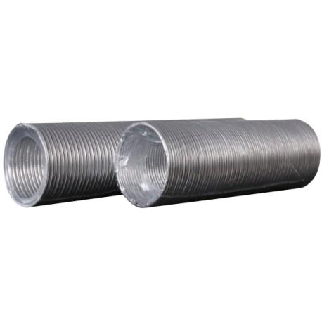 Aluminijasti fleksibilni valoviti zračni kanal, D do 3 m, premer 125 mm