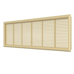 Removable overflow grill 227*67 beige