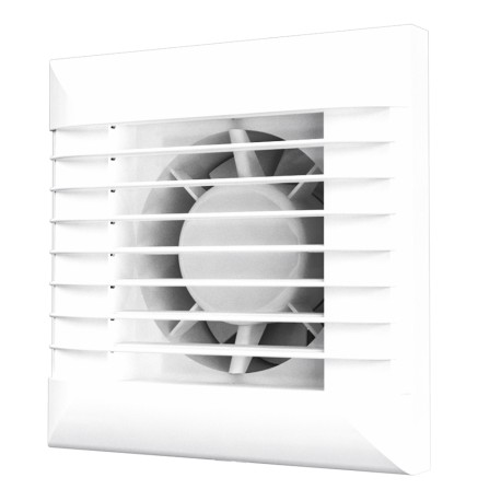 EURO 4A, Axial fan with a thermal actuator that provides smooth opening and closing of the automatic louvre shutters to prevent