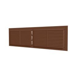 4513RP (brown), Snemljiva prezračevalna rešetka 455x133, rjava