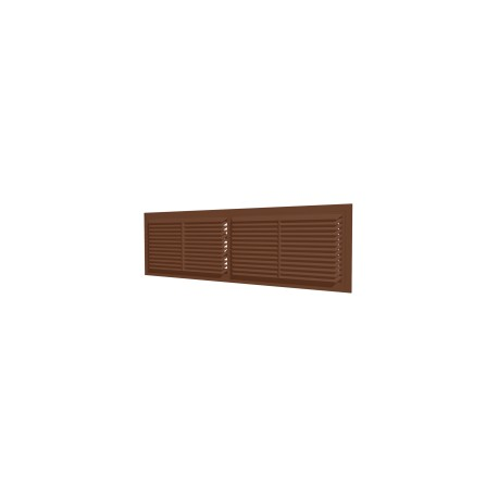 Removable overflow grill 455x133, brown