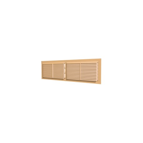 Removable overflow grill 455x133, beige