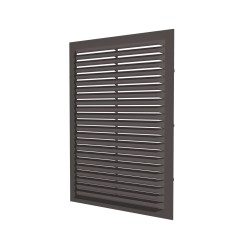 Grill with screen 217x113, brown