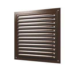 Grill with screen and with polymeric enamel 200x200, steel