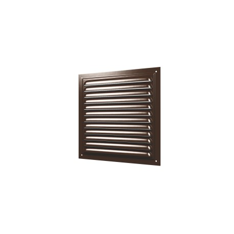Grill with screen and with polymeric enamel 250x250, steel