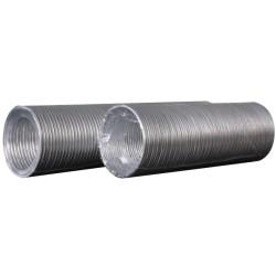 10VA ULTRA, Aluminijasti fleksibilni valoviti zračni kanal, D do 3,1 m, premer 100 mm