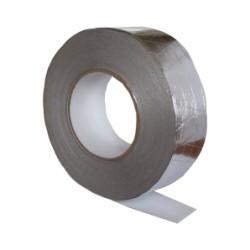 Aluminijast ojačan trak 50 mm kh 50 m, 120 mikronov.