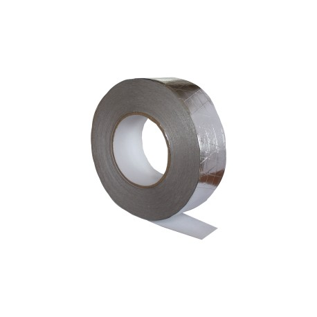 Aluminum reinforced tape 50 mm kh 50 m, 120 microns.