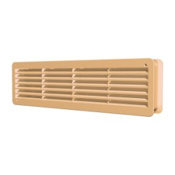 Removable overflow grill 450x91, beige, set of 2 pc.