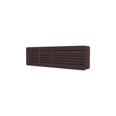 Removable overflow grill 450x91, brown, set of 2 pc.