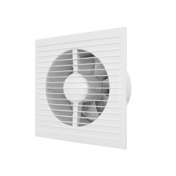 A 6S C, Axial fan with moscuito net,  back draught shutter  D 150