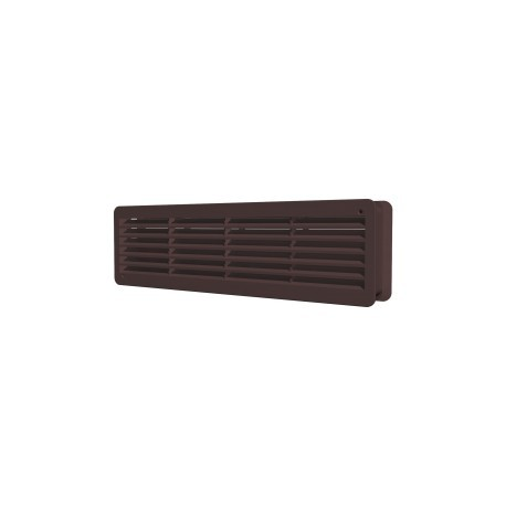 Removable overflow grill 450x131, brown, set of 2 pc., polypropylene