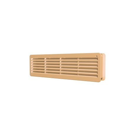 Removable overflow grill 450x131 beige, set of 2 pc., polypropylene