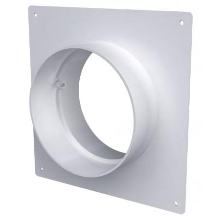 Okrogel cevni priključek s pokrivno ploščo D150 15SKNP