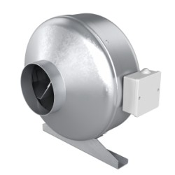 Centrifugal inlet-and-exhaust duct fan, steel, staLʹnoy BB D160
