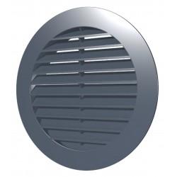 Zunanja okrogla rešetka D200 s prirobnico D150, ASA plastik