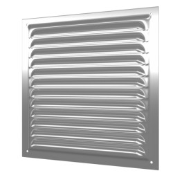 Grill with screen 125kh125, zink-coated steel
