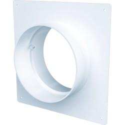 10SKNP Okrogel cevni priključek s pokrivno ploščo D100