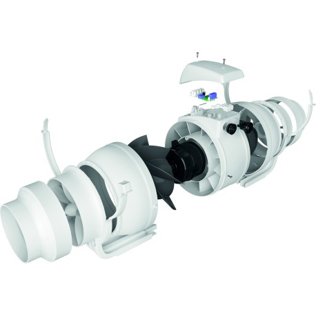 Kanalski ventilator Typhoon 160 2sp D160