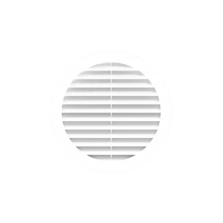 Exhaust round grill D150 with flange D150