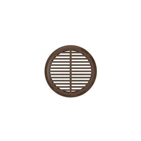 Snemljiva okrogla prezračevalna rešetka, 4 kosa rjava