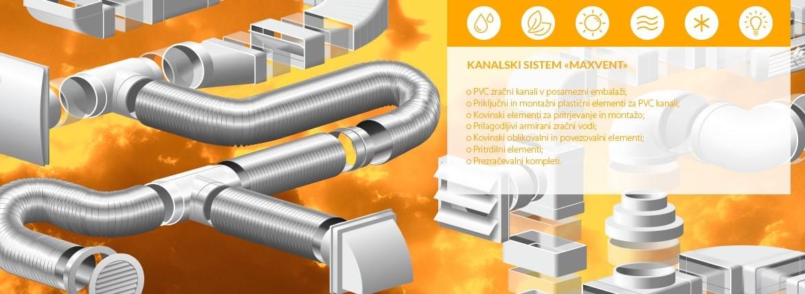 Fleksibilni PVC zračni kanali aluminjasti fleksibilni kanali - Akvavent